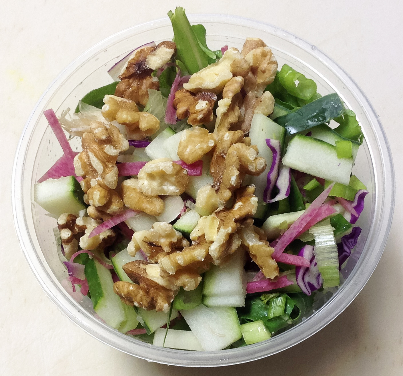 arugula salad with walnuts