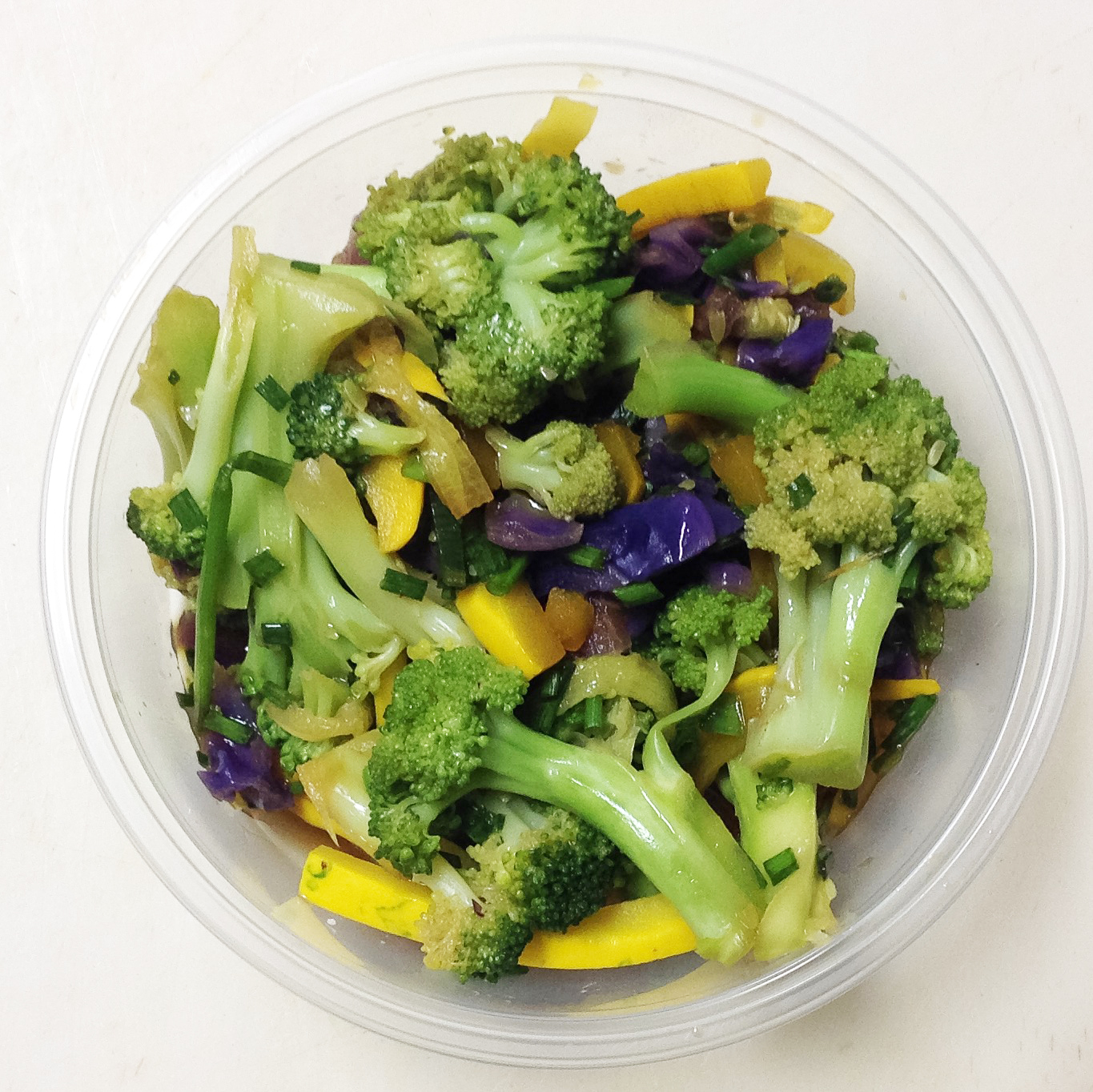 broccoli boiled salad
