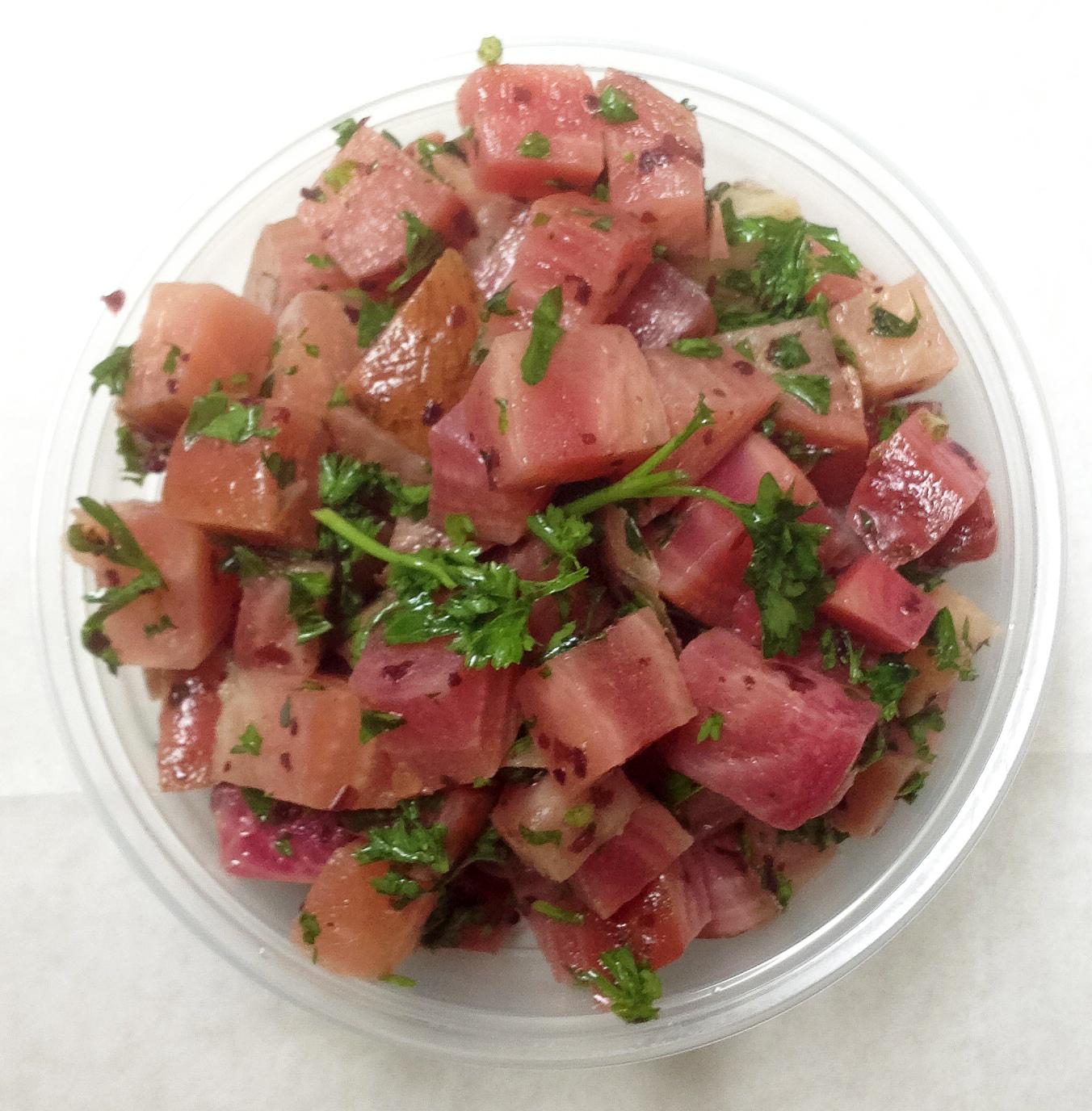 watermelon-radish