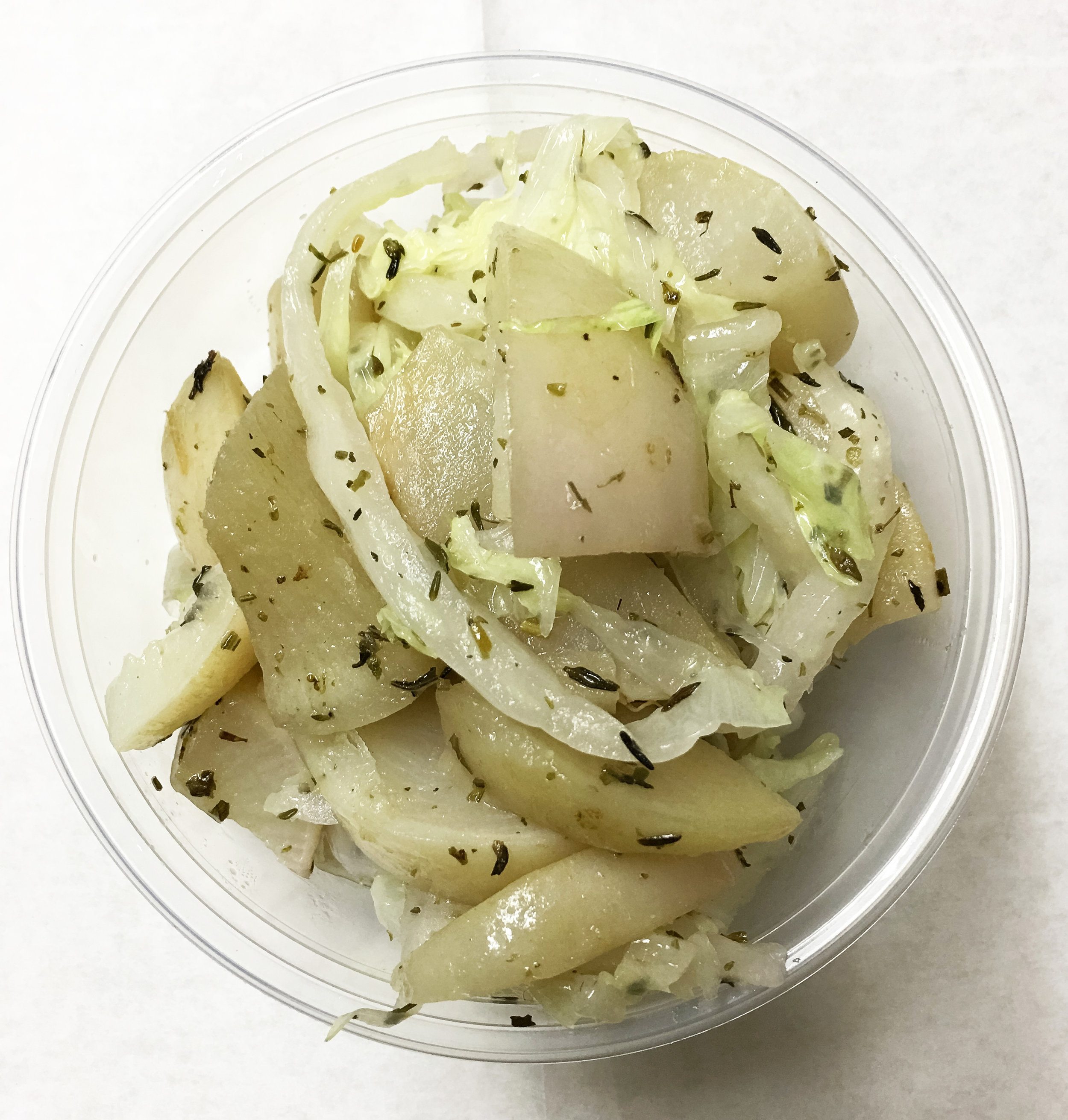 Baked turnips _ hdp_ blanched nappa