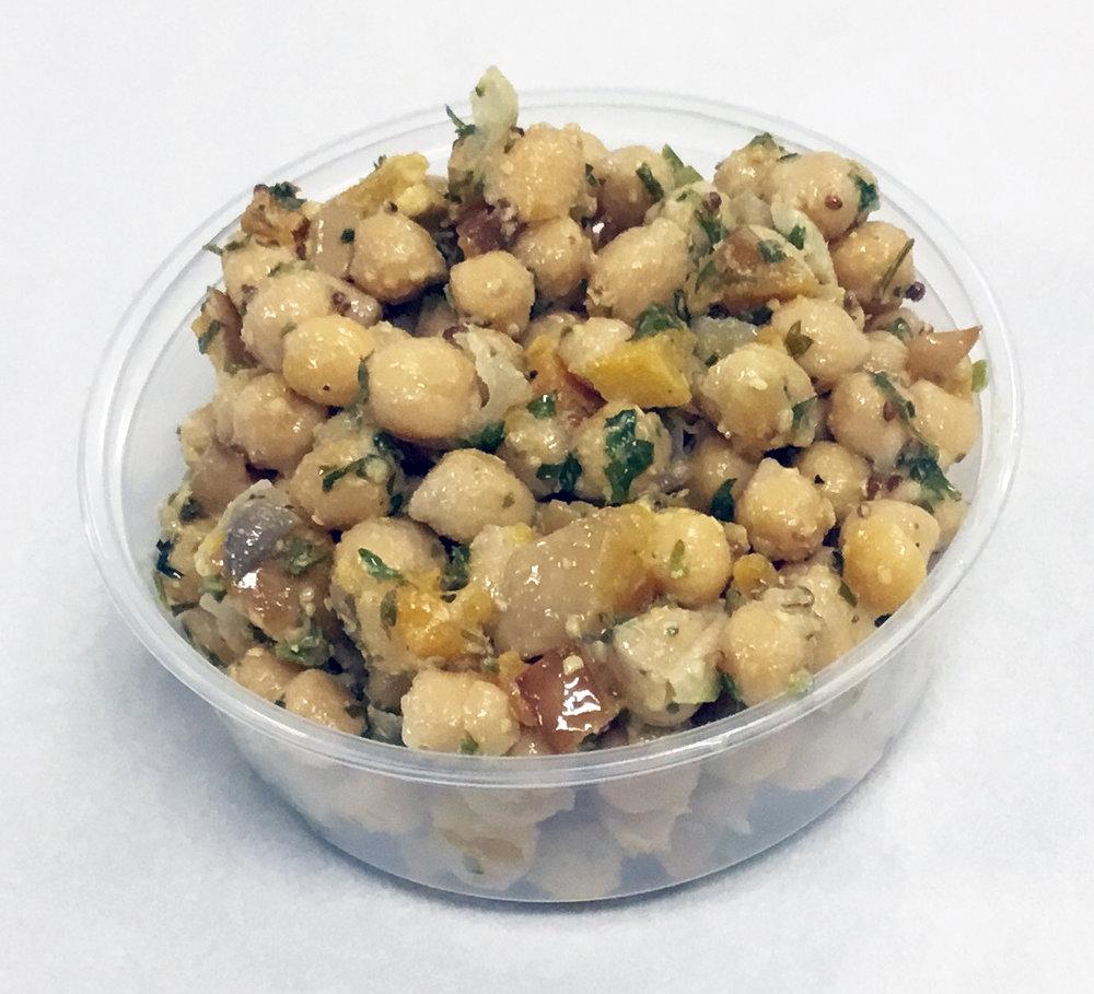Garbanzo beans with roasted butternut squash.JPG