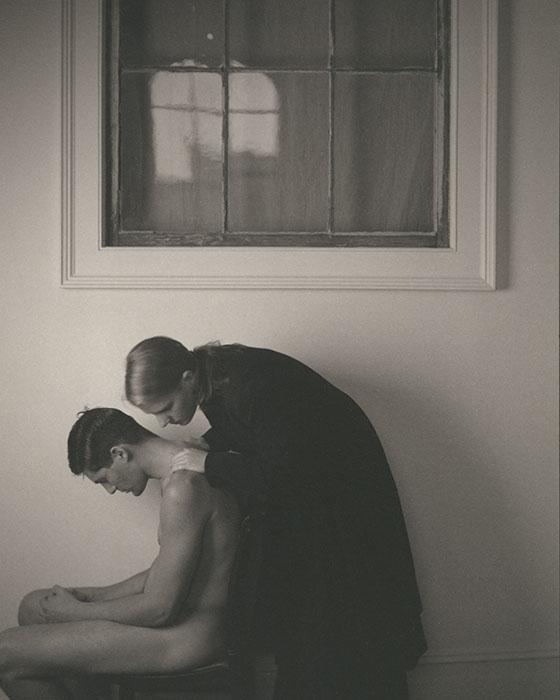 "John Dugdale,  ""Ascension"" , 2005, edition 3 of 12, albumen print, 18 x 22"""
