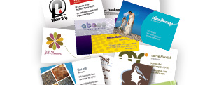 Business Cards  Your business card is a direct reflection of your company. Don't settle for plain paper and dull designs when we can create cards that will leave a lasting impression.