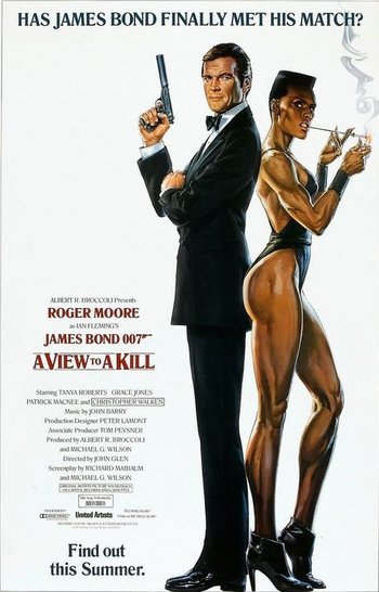 Even Grace Jones couldn't help this Bond franchise nadir.