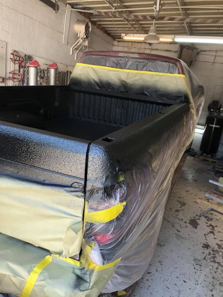 Bed liner installation