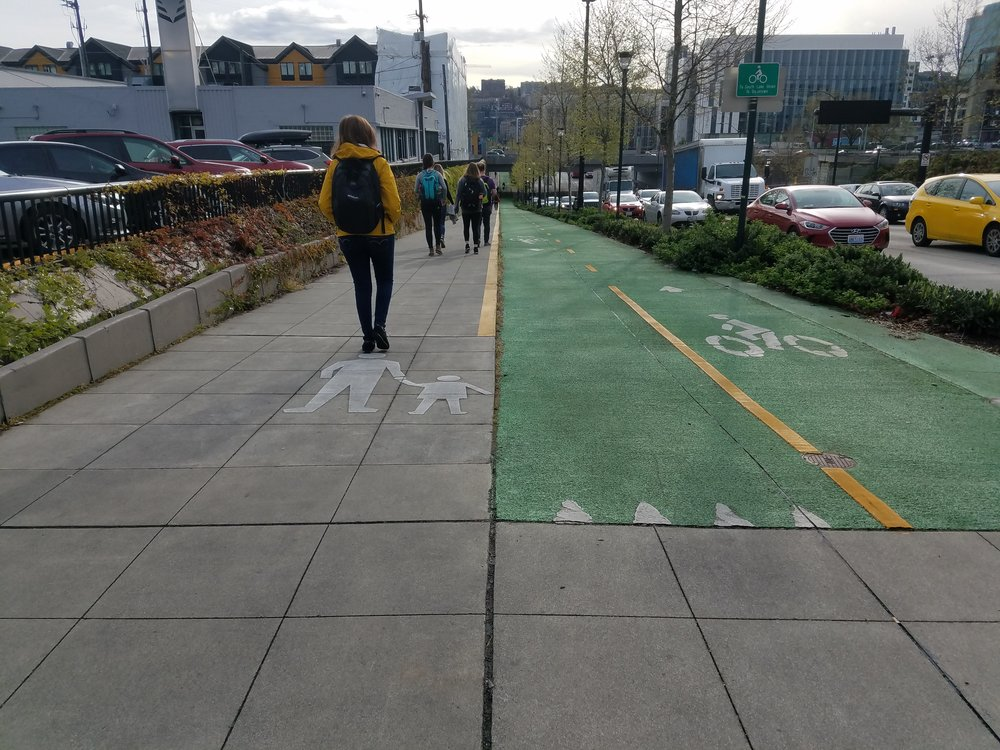 Another example of a PBL in South Lake Union.