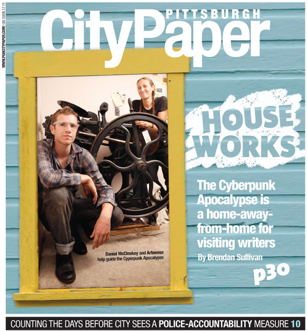 2011 feature article about Bean Can's writers' house.