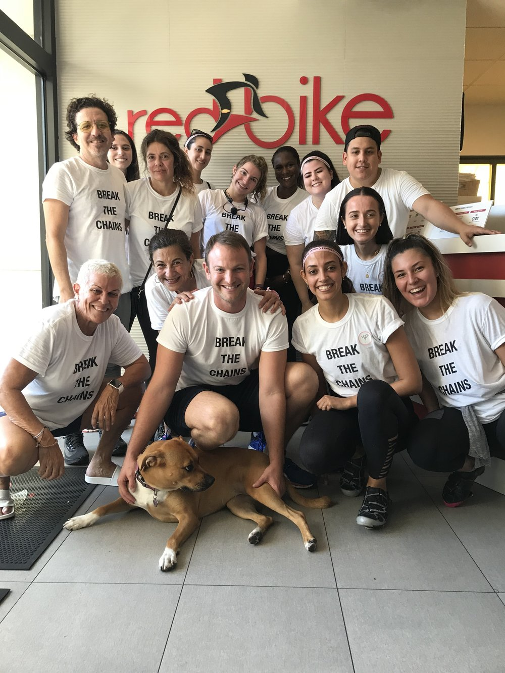 #SpinforSurvivors with our new friends at RedBike!