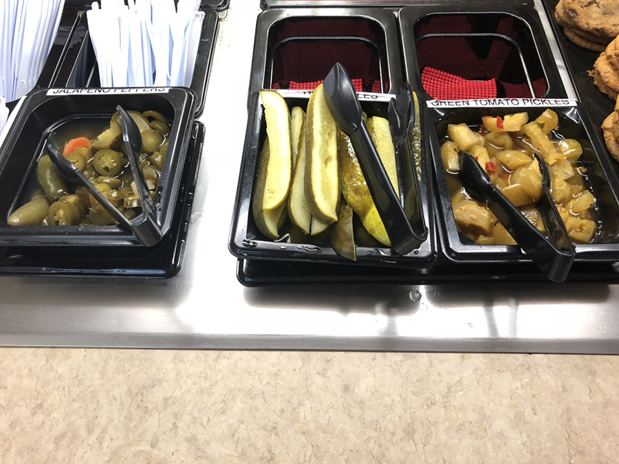 Pickles and Condiments