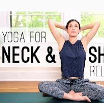 Yoga for neck and shoulders (Engl.)