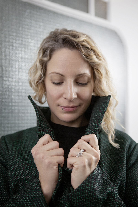 Mantel Coquille  Ring von  Ruthgold
