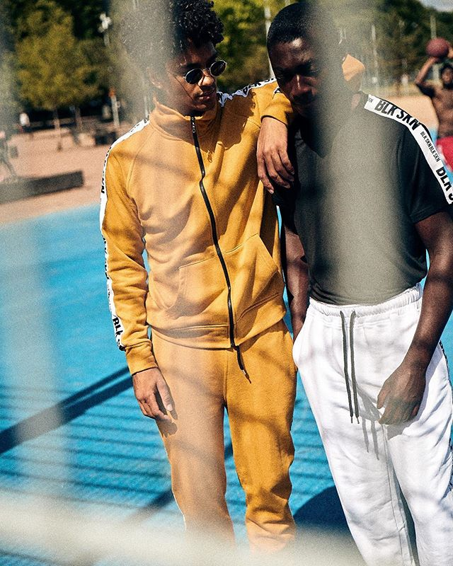 Tracksuits on deck.