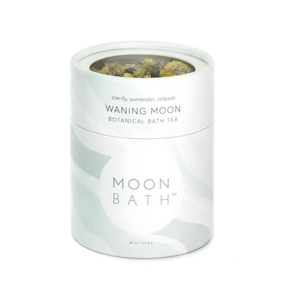 Clarify, Surrender, and Release with our  Waning Moon Bath Tea