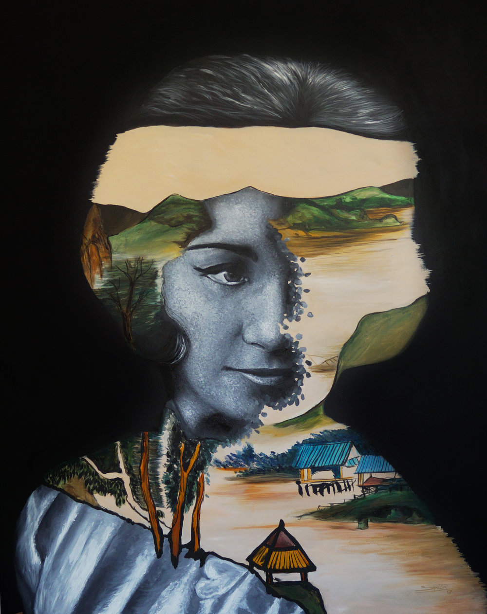 Madam Mao Acrylic-canvas 120x150cm 2017.jpg