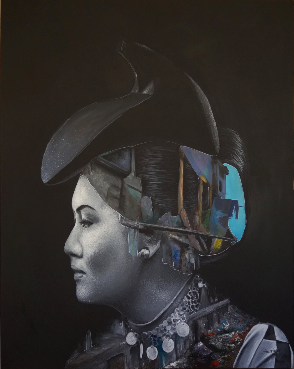 The iron lady Acrylic-canvas 120x150cm 2017.jpg