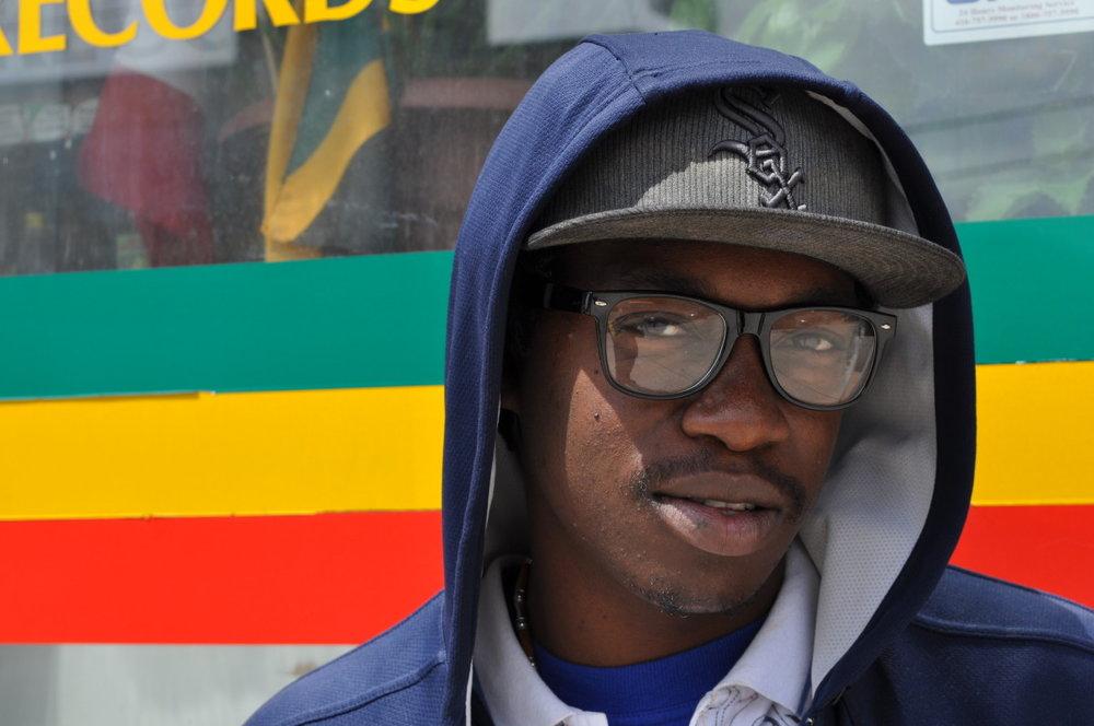 Reggae artists Mally Bless