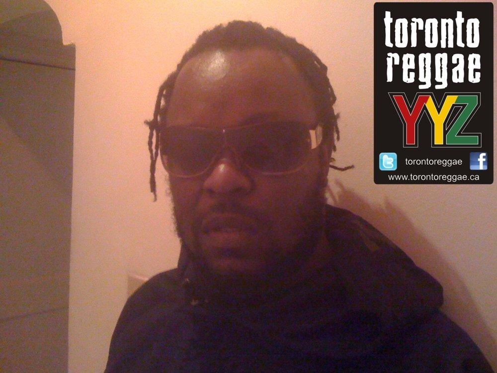 Reggae artist Chuckle Berry!  August 2011