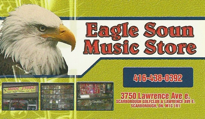 Eagle Soun Music Store 3750 Lawrence Ave E