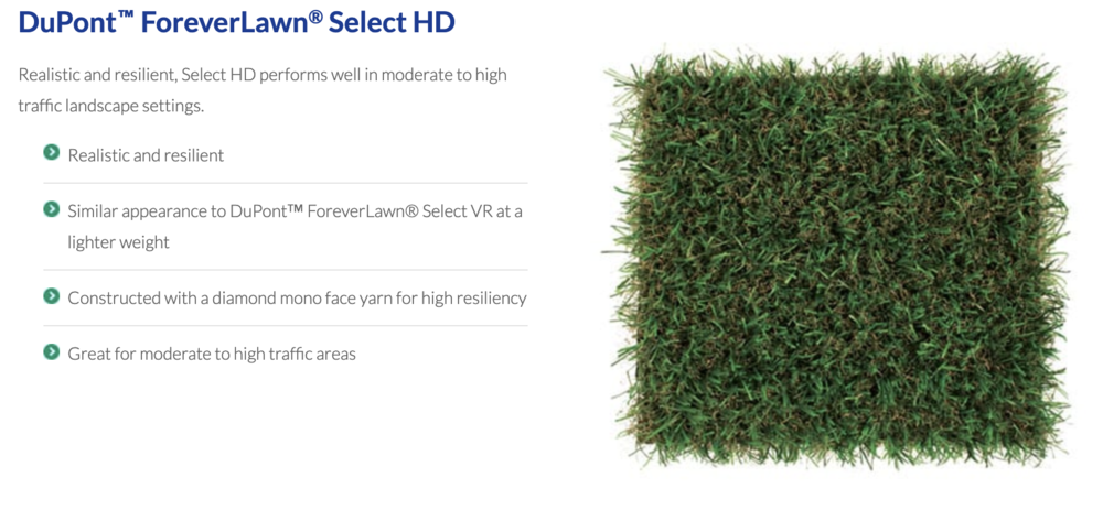 DuPont™ ForeverLawn® Select HD