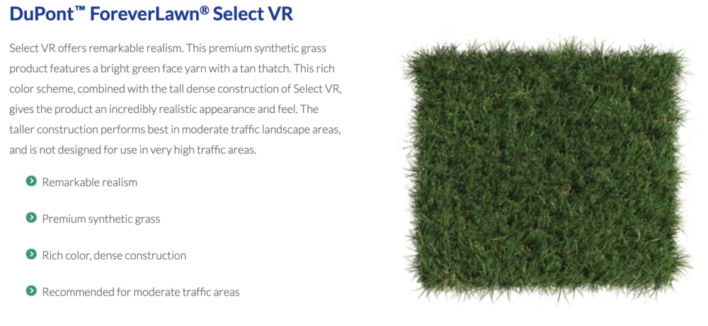 DuPont™ ForeverLawn®Select VR