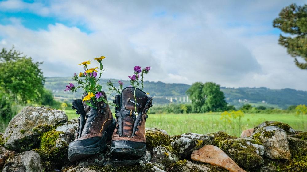 Boots - Camino de Santiago, Spain