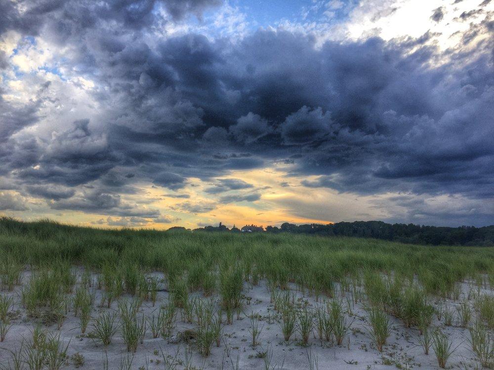 Before the Storm, Crane's Beach, MA