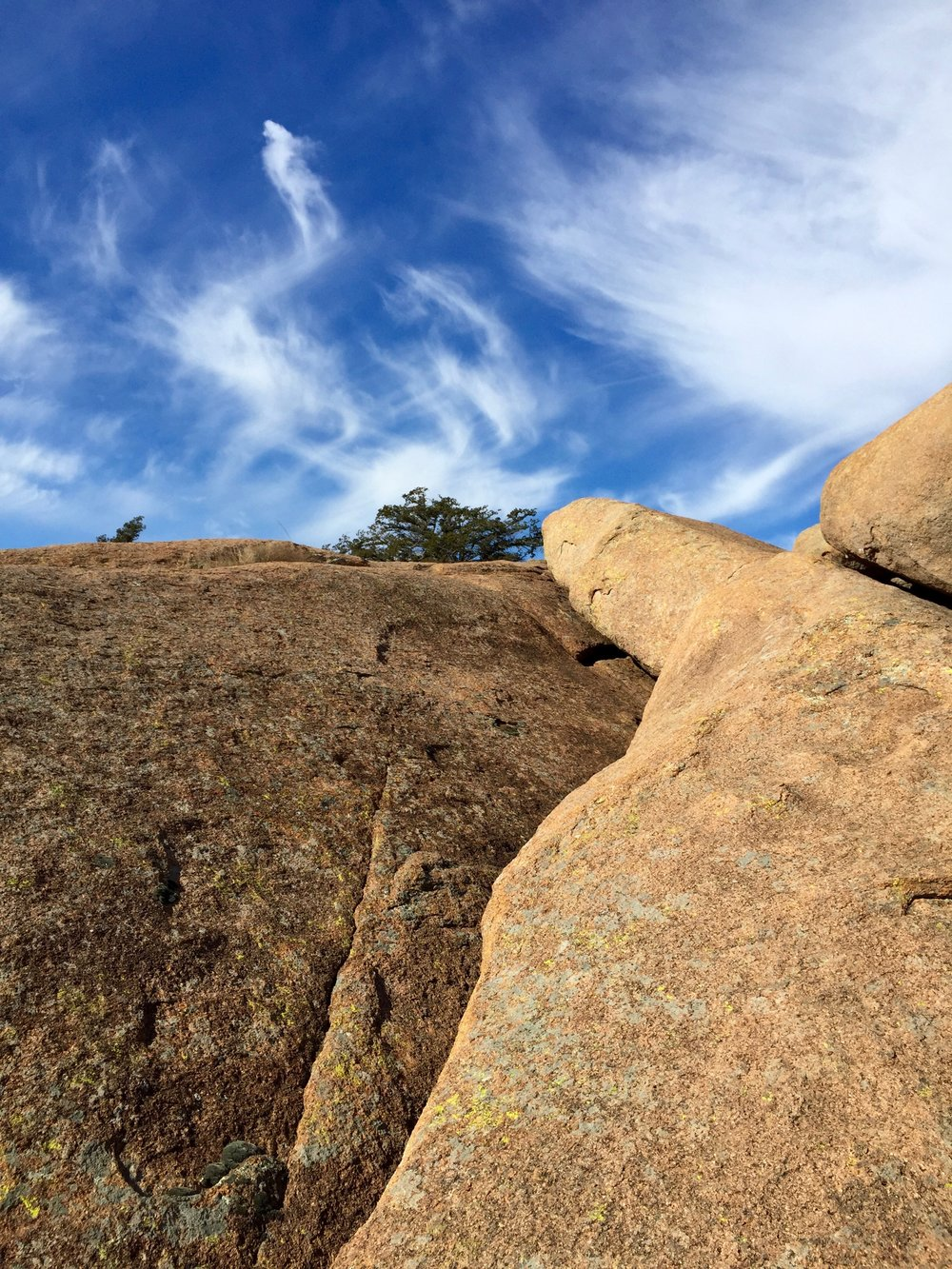 Wichita Mountains - Rock and Sky Meeting