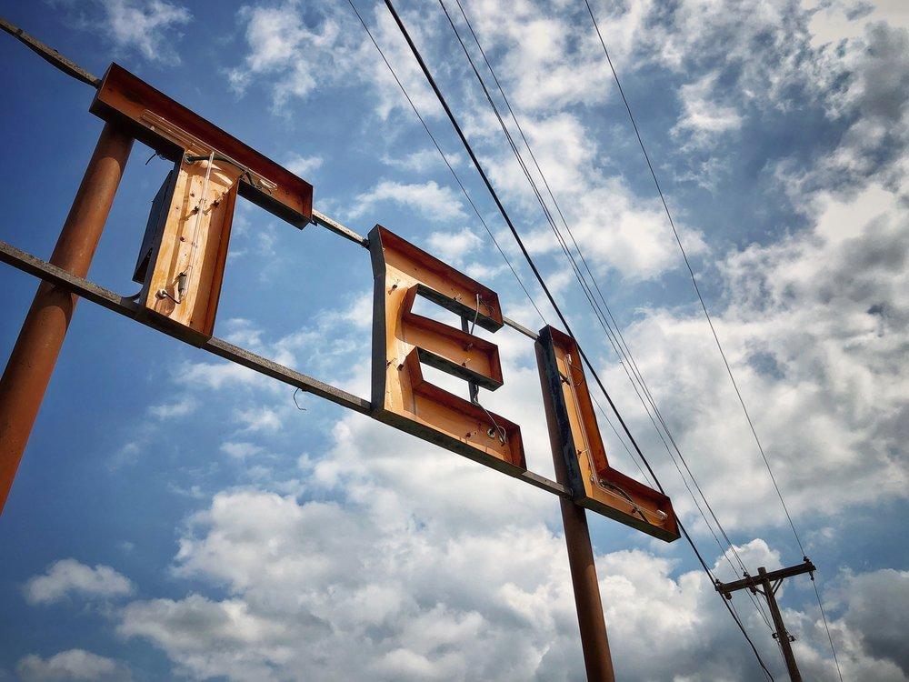Motel Sign, Tulsa