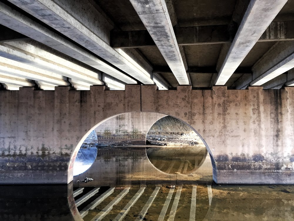 Under the Bridge Abstract