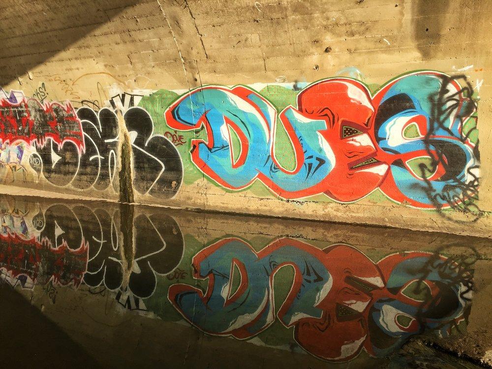 Graffitti, River Parks, Tulsa