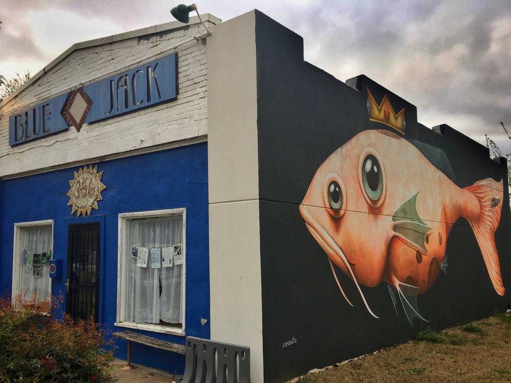 Blue Jack, Charles Page Blvd. Tulsa, OK