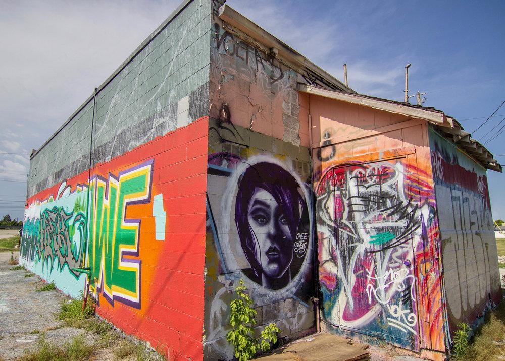 Mad Dog Graffiti