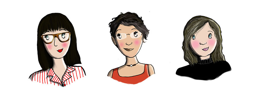 Freshly Press Team Illustrations