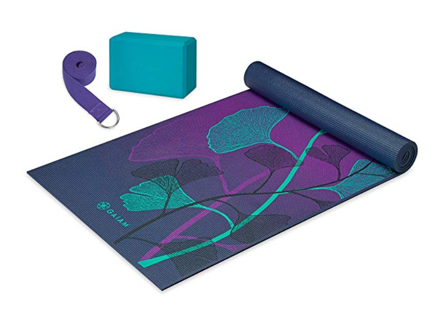 Gaiam yoga starter kit - $25.49