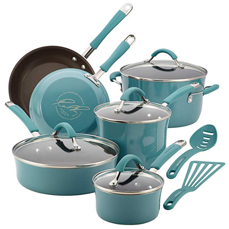 Rachel Ray 12-piece cookware set - $89.99