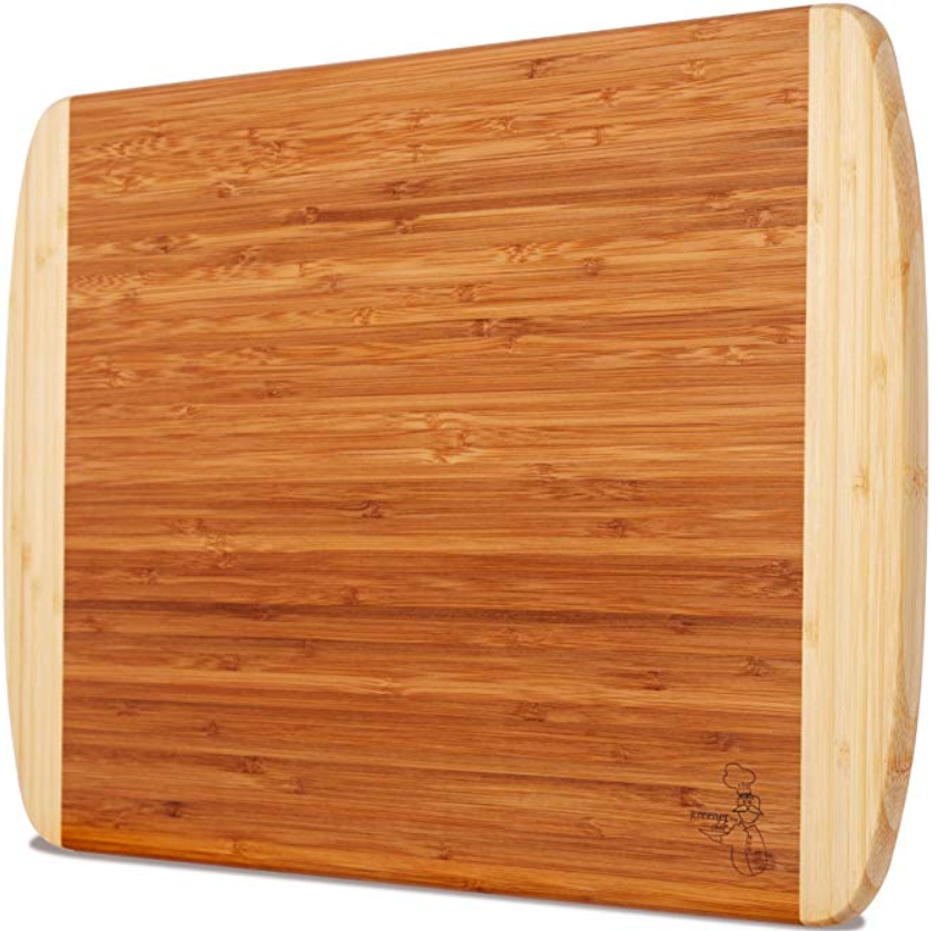 Greener Chef organic bamboo cutting board - $26.99