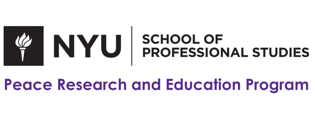 NYU SPS Peace Research and Education Program