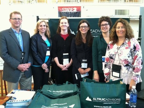 Altruic Advisors accounting staff at Colorado Nonprofit Association Fall Conference 2014 in Denver