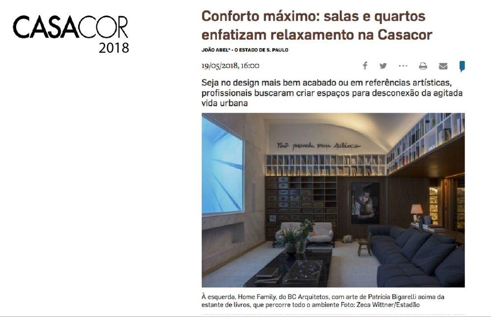 CASA COR - 2018