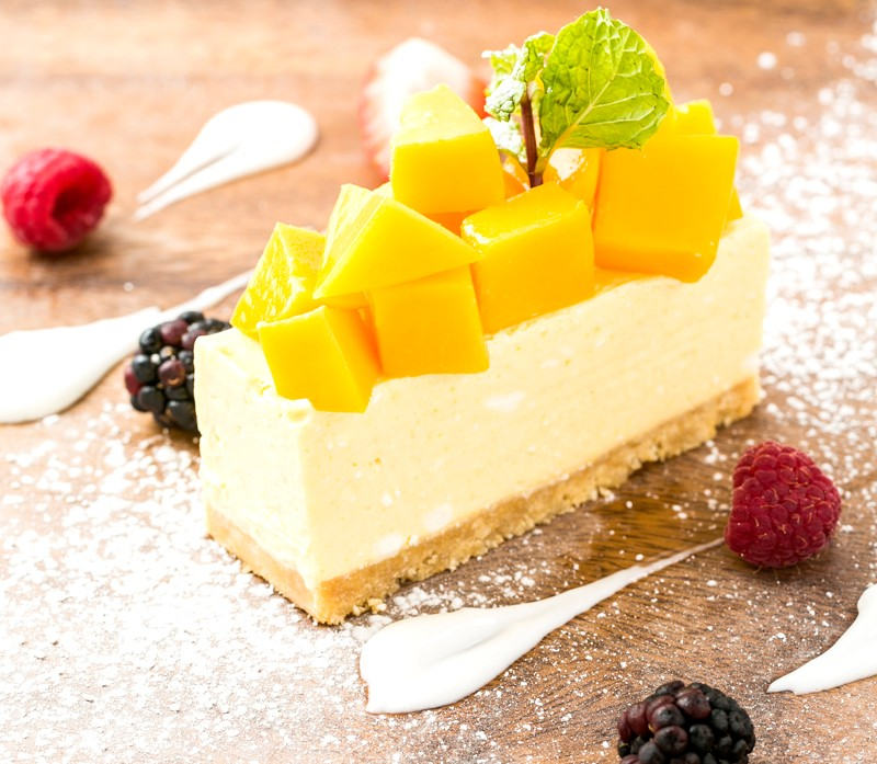 マンゴーソニャーレチーズケーキ