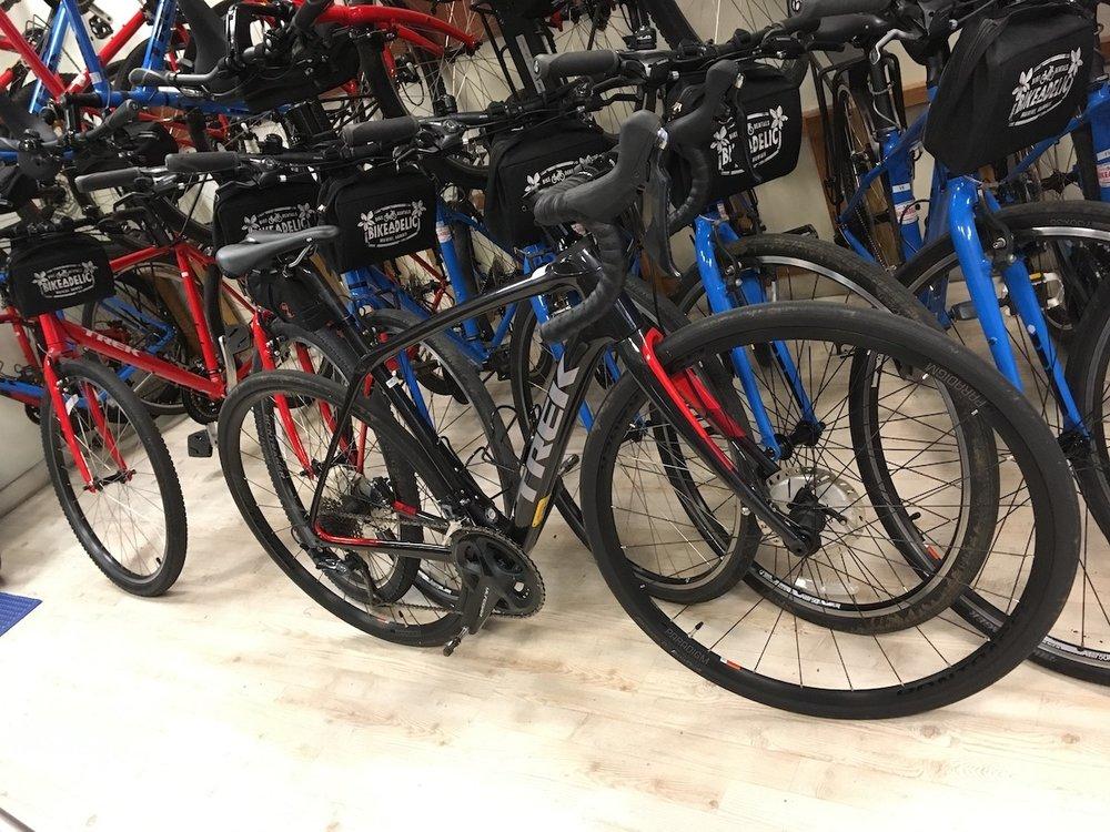 幅広い車種の自転車の中から、好みに合わせて選べる
