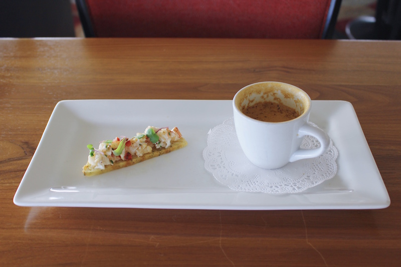 Lobster Cappuccino with Lobster Biscotti1 Small.jpg