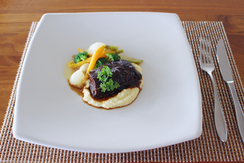 Marsala Wine Braised Short Rib with Cheesy Parmesan Polenta1 small.JPG