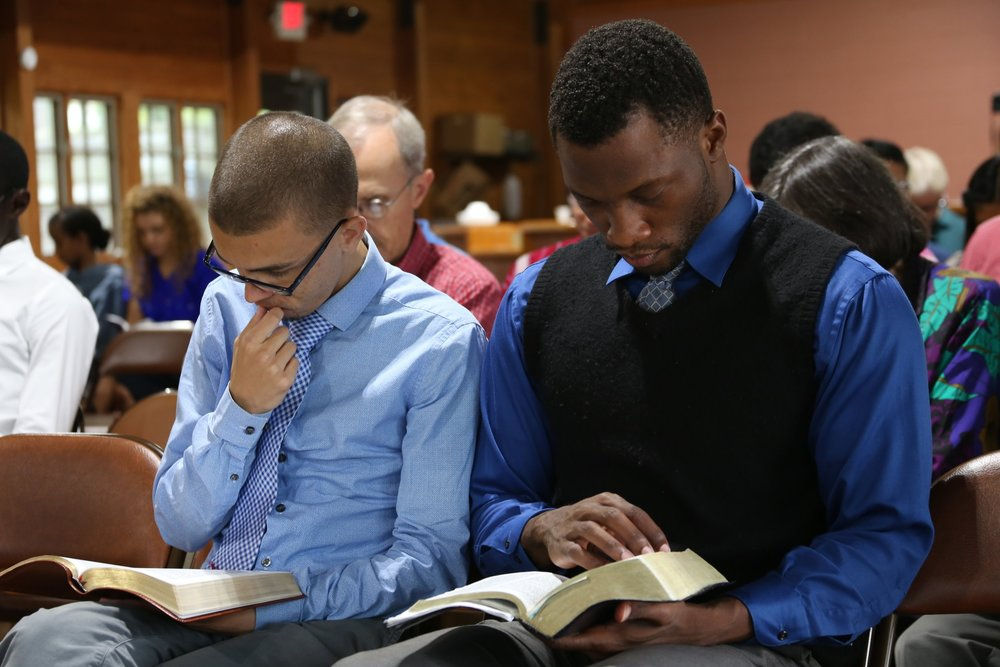 Deep Bible study