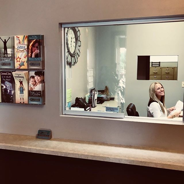 When you walk into Women's Pregnancy Center, the receptionist will be waiting to greet you. Her desire is to answer any question and ease any fear you have before your appointment even begins. We can't wait to meet you!