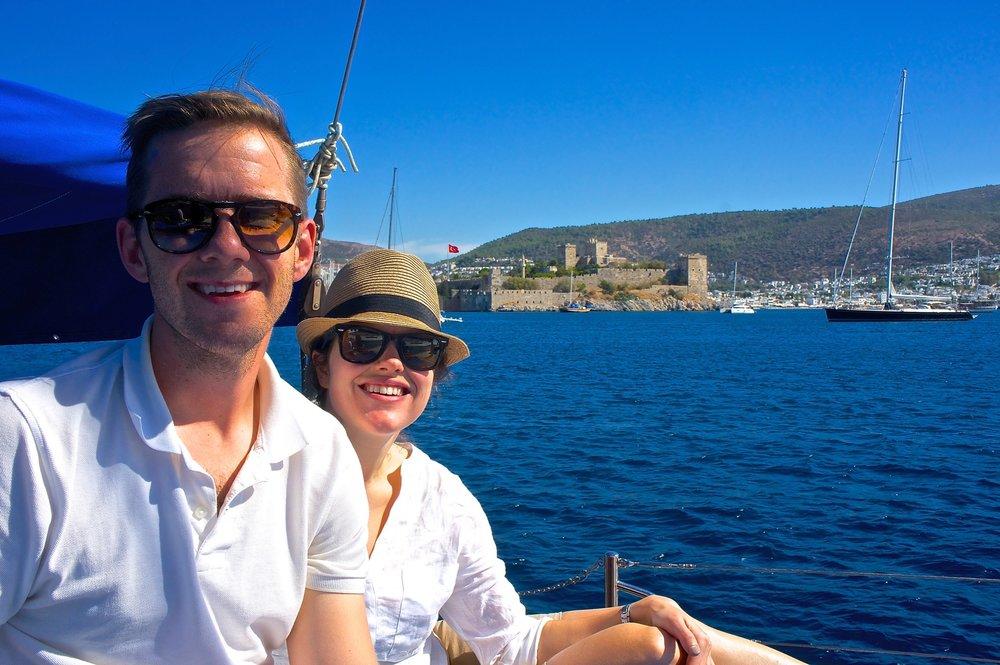 Matt and Ashley love traveling