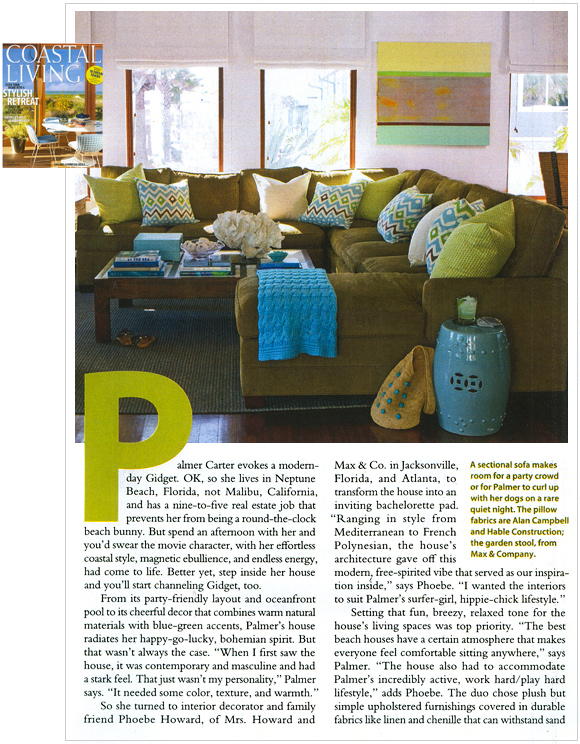 Coastal Living, May 2009