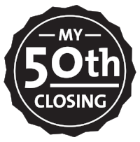 Had my 50th closing 9/7/18