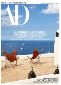 Architectural Digest Online Story, June 2017
