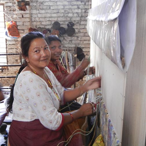 Weavers in Kathmandu